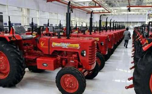 मार्च 2018 में महिंद्रा ट्रैक्टर की बिक्री 46.23 फीसद बढ़ी