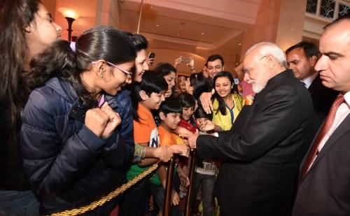 पहली बार भारतीय प्रधानमंत्री मोदी चोगम की बैठक में शरीक