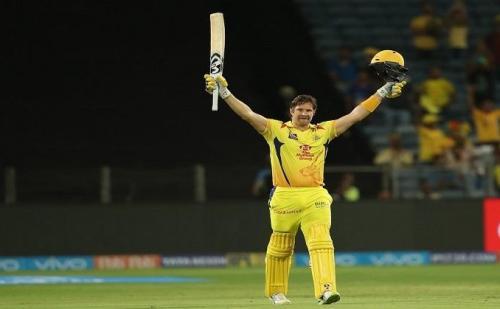 IPL-11:चेन्नई ने राजस्थान को हराकर जीत की राह पकड़ी, वॉटसन ने लगाया शतक