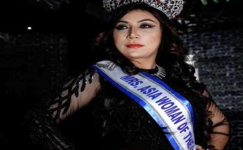 करनाल की नवनिधि ने जीता मिसेज एशिया वुमन ऑफ यूनिवर्स का खिताब