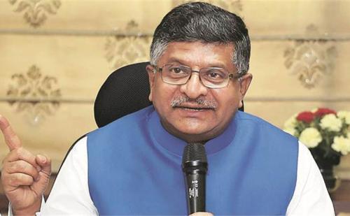 केंद्रीय मंत्री रविशंकर प्रसाद का कांग्रेस पर पलटवार