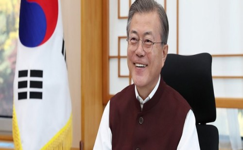 साउथ कोरिया के राष्ट्रपति में भी दिखी पीएम मोदी के जैकेट की दीवानगी