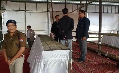 उत्तराखंड: निकाय चुनाव की मतगणना के लिए किया गया निरीक्षण