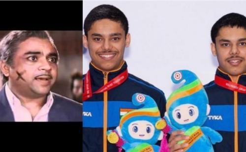 खेलो इंडिया टूर्नामेंट में दो जुड़वां शूटर भाई पहुंचे,  कन्फ्यूजन से बचने के लिए उन्हें चेहरे के मार्क का सहारा लेना पड़ा….