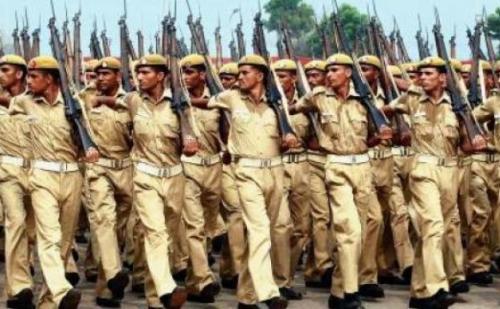 पुलिस में सिपाही के 1063 पदों के लिए रविवार को हुई लिखित परीक्षा
