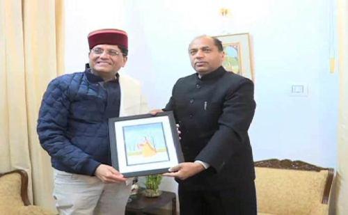 रेल मंत्री से मिले सीएम जयराम, हिमाचल रेल विस्तार के मुद्दे पर की गई चर्चा