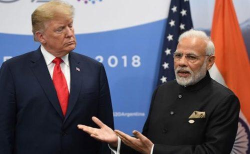 अमेरिकी राष्ट्रपति डोनाल्ड ट्रंप भारत को आर्थिक मोर्चे पर दें सकते है बड़ा झटका