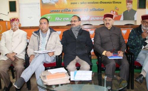 प्रदेश में बीजेपी की 8 बड़ी रैलियां, कार्यकर्ता करेंगे घर-घर जाकर प्रचार