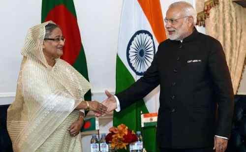पीएम  मोदी और बांग्लादेशी पीएम एक साथ करेंगे 4 परियोजनाओं का उद्घाटन