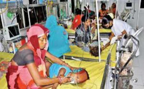 बिहार में 'चमकी' का कहर जारी, मरने वालों की संख्या 150 पहुंची