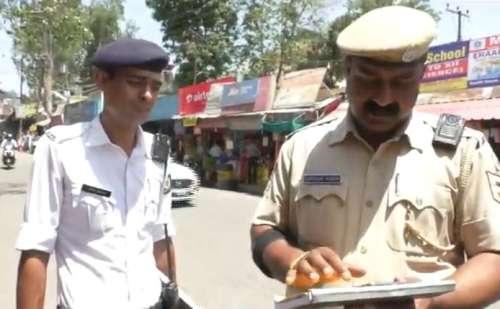 हमीरपुर पुलिस से बदतमीजी करना पड़ेगा महंगा, ट्रैफिक पुलिस कर्मियों को दिए 40 बॉडी बोन कैमरा