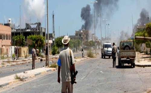 लीबिया हिंसा : संयुक्त राष्ट्र ने की संघर्ष विराम की अपील