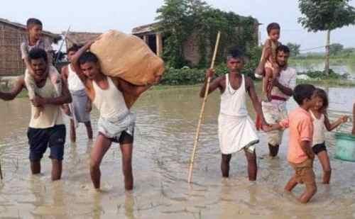 बिहार : 130 पहुंची बाढ़ से मरने वालों की संख्या, असम में राहत