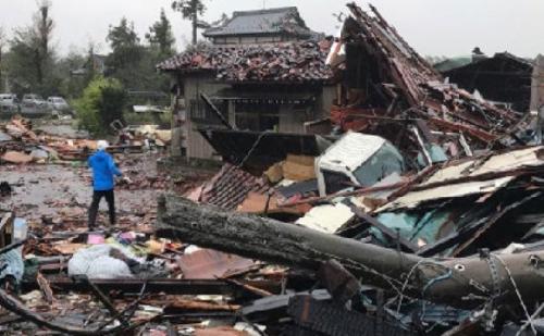हगिबिस तूफान से जापान में भारी तबाही, 11 लोगों की मौत, कई लोग लापता