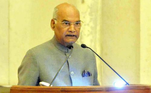 राष्ट्रपति रामनाथ कोविंद ने देशवासियों को दी छठ पूजा की बधाई