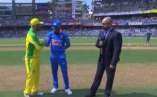 भारत और ऑस्ट्रेलिया के बीच वानखेड़े स्टेडियम में पहला वनडे आज, पहले बल्लेबाजी कर रहा है भारत