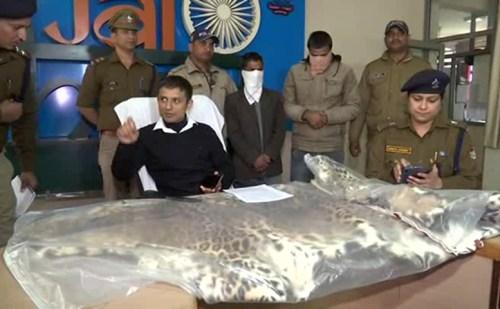 कैंट पुलिस ने किया वन्य जीवों की तस्करी करने वालों का खुलासा