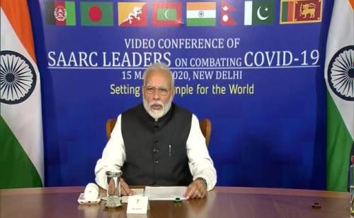 कोरोना वायरस : पीएम मोदी ने की सार्क देशो के साथ वीडियो कॉन्फ्रेंस ,पाकिस्तान ने फिर की ओछी हरकत