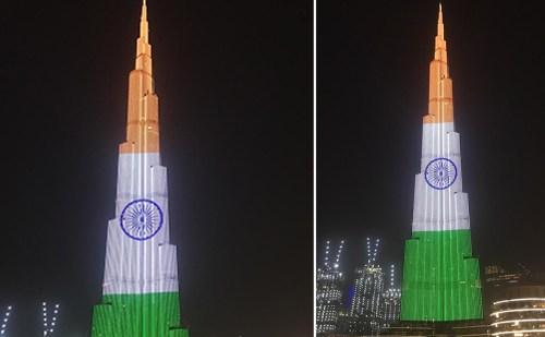 Corona: जब तिरंगे के रंग से जगमगाया Burj Khalifa, साथ लिखा- #StayStrongIndia देखिए दिल छू जाने वाला ये Video…