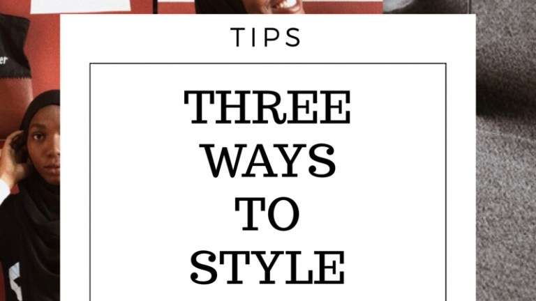 Three Easy Hijab Styles to Wear Effortlessly