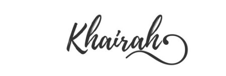 khairah-signature