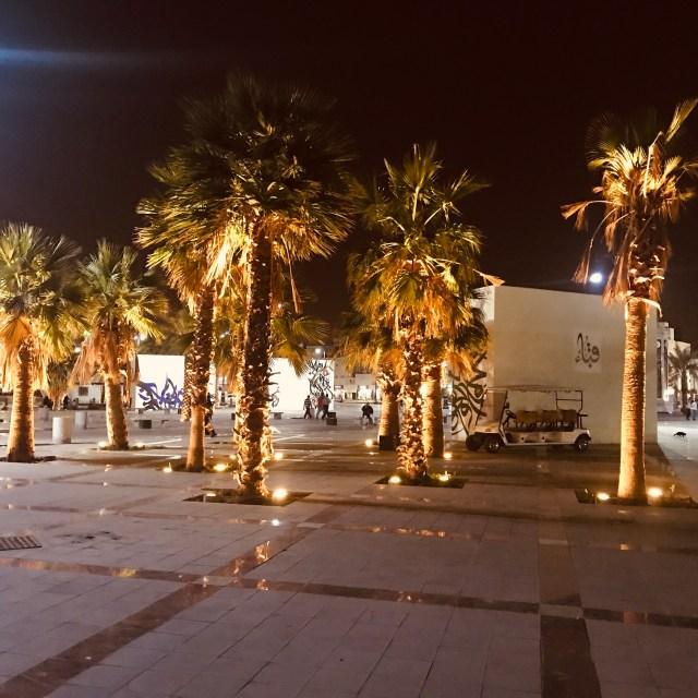 beautiful-nightlights-near-prophets-mosque-masjid-annabawi-madinah-saudi-arabia
