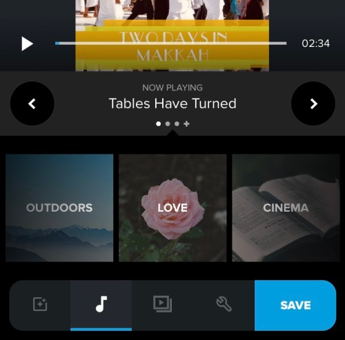 quik-songs-from-themes-import-audio-music-video-editing-app-2019
