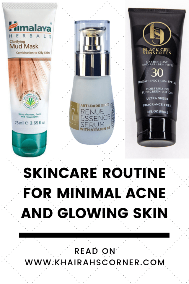 skincare products review for minimal acne healthy skin khairahscorner pinterest blog banner