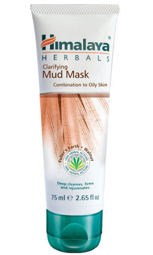 himalaya herbals clarifying mud mask skincare products review for minimal acne healthy skin khairahscorner