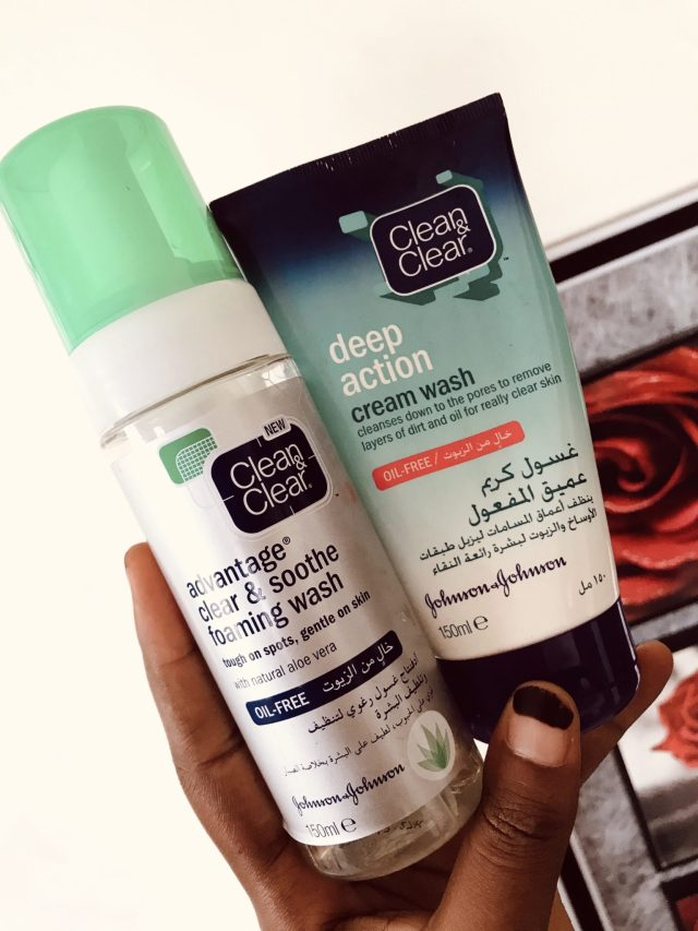 Morning Skincare Routine with Four Johnsons Products blogpost khairahscorner facial care cream wash foam cleanser