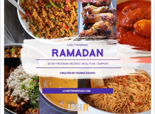 Tools to help plan ramadan specials blogpost khairahscorner meal plan by loseitnigerian