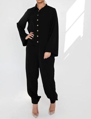 black-button-cuff-jumpsuit-blogpost-khairahscorner-shopping-list