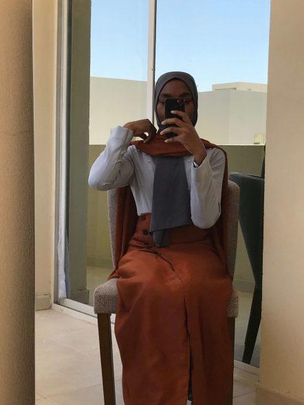 wear skirts with dresses wrap skirt dress blogpost khairahscorner full view