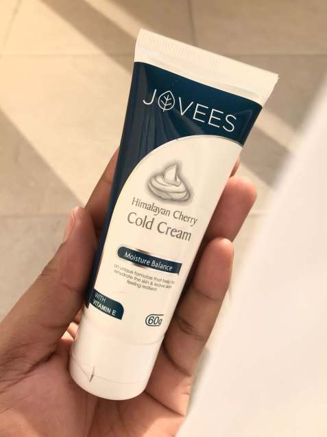 jovees-himalayan-cherry-cold-cream-vitamin E-rose-water-vitamin-A-skincare-reviews-khairahscorner