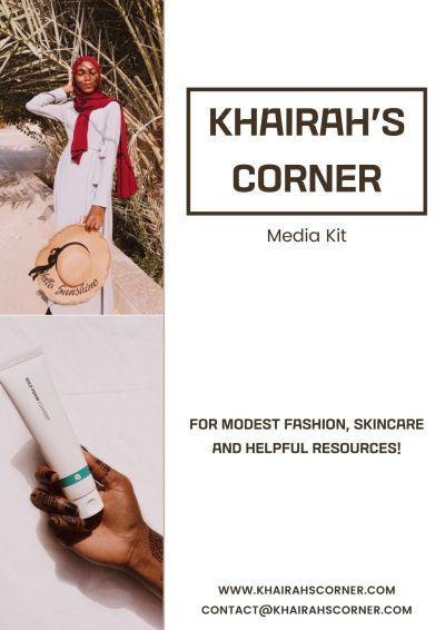 2021 New Media Kit khairahscorner