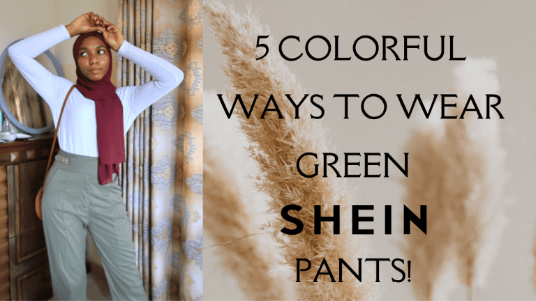 5 COLORFUL Ways to Style Green Pants