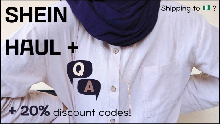 How to Shop SHEIN in Nigeria – Modest SHEIN Try-on Haul
