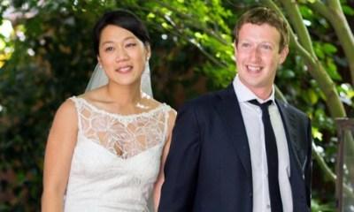 Mark Zuckerberg and his wife Priscilla Chan