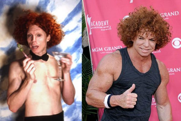 Carrot Top Before and After