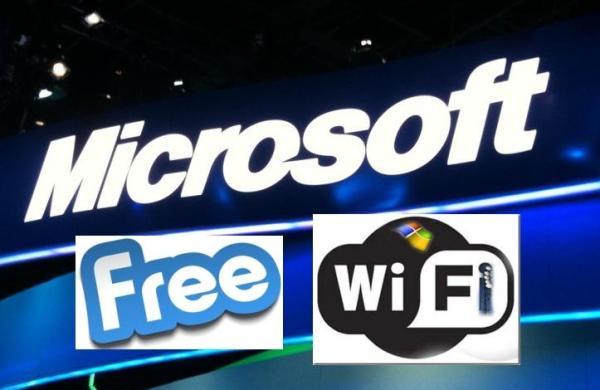 Microsoft Free Wi-Fi