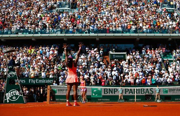 Serena Williams wins French Open