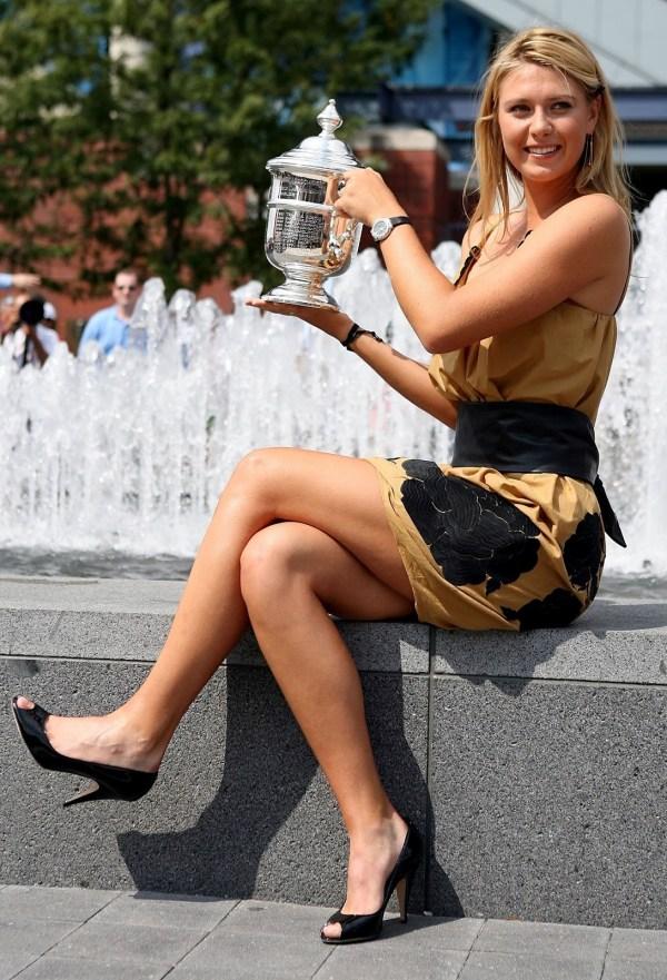 Maria Sharapova Legs and Feet