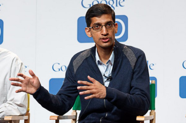 Pichai in Google