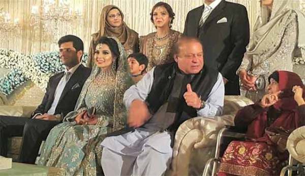 Nawaz Sharif granddaughter Mehr-un-Nisa Wedding pictures