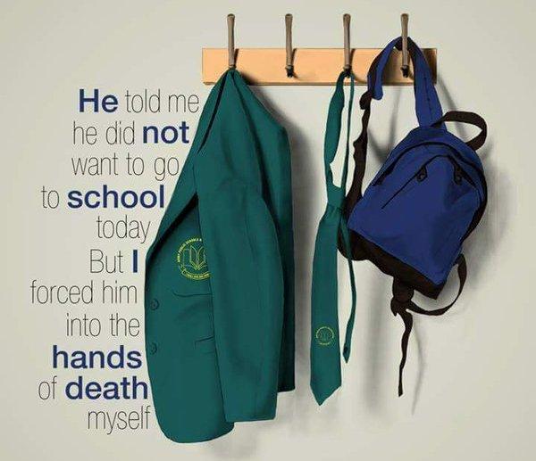 Pakistan Mourning Army Public School Peshawar Attack