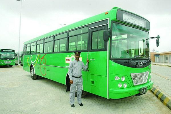 Karachi Green bus Transit System