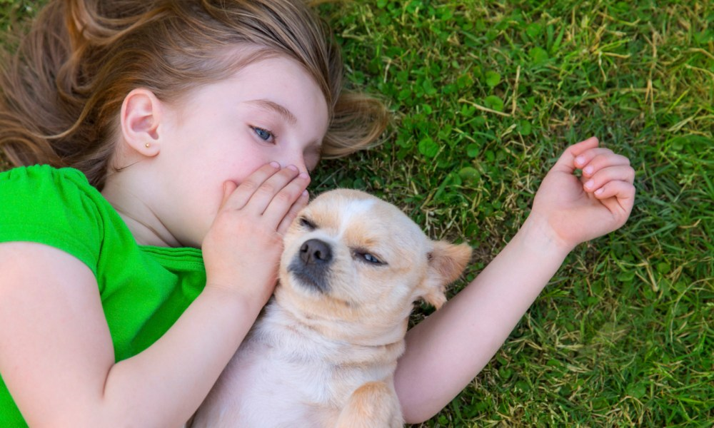 Why Dogs Are Good to Help Raise Children
