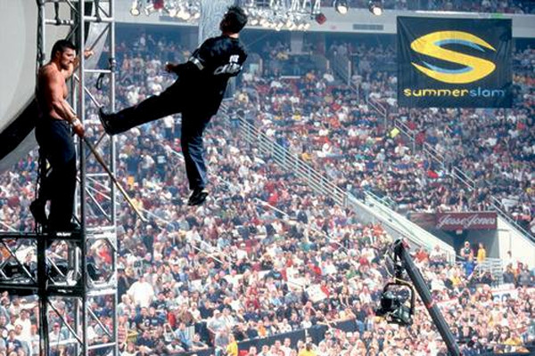 SummerSlam 2000 - Shane's Leap Of Unsafe