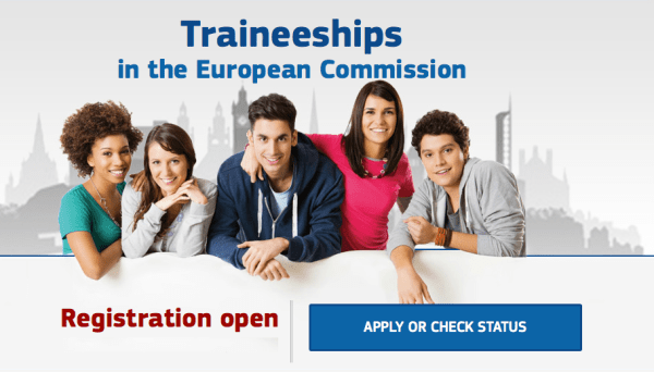 European Union Fully Paid Traineeships
