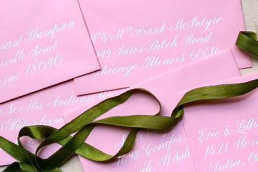 Hand Calligraphy Envelopes - Austin Wedding Calligraphy